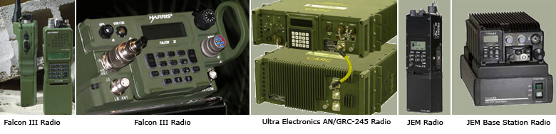 ORBexpress in use in Harris Falcon III, Thales JEM, and Ultra Electronics AN/GRC-245 software defined radios