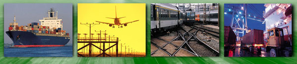 ORBexpress is used in a wide variety of transport industries
